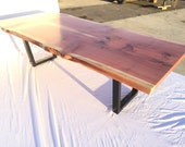 Large Live Edge Redwood T...