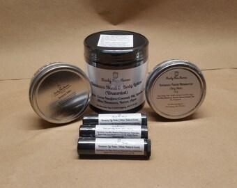 Beeswax Combination / Lip Balm / Salve / Lotion / Homemade / Peppermint / Moisturizer