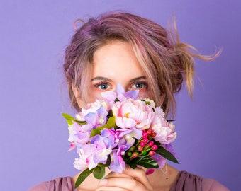 Fontanne Ranunculus and Hydrangea Bouquet