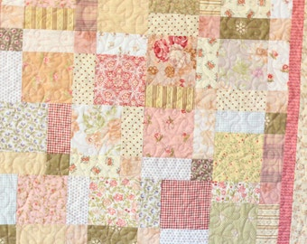 Square and Square Baby Quilt
