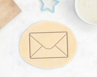 Envelope Cookie Cutter – Mail Cookie Cutter Mailbox Cookie Cutter Office Email Cookie Cutter St Valentines Day Gift Love Letter Heart
