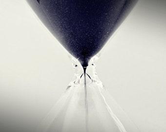 Hourglass Photo Minimalist Photo Black and White Photo Signed Art Print