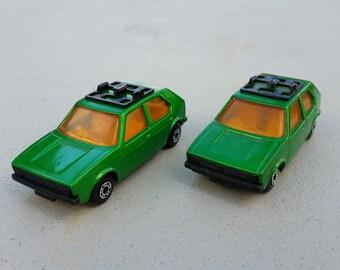Matchbox Superfast No 7 VW Golf 1970s nr mint