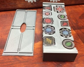 Star Wars X-wing Miniatures 2 Row Token Holder with Lid