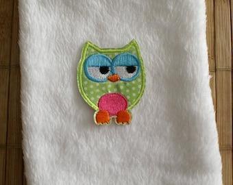 Green OWL organic flax seed heating pad