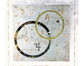 White Alchemy Dream Art Print