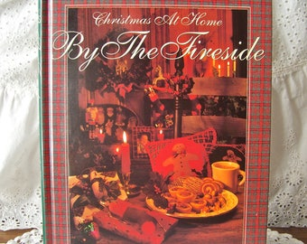 Christmas Craft Book By The Fireside Better Homes and Gardens Christmas At Home Vintage 1993