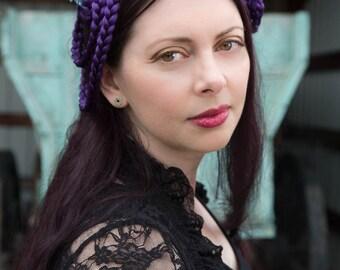 Mini Daughter of Pan Horned Nymph Headdress