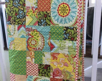 Heather Bailey Twin Quilt