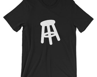 Boxing Stool T-shirt Knock Out Ring