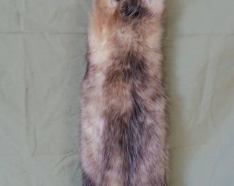 Virginia Opossum Fur Pelt - Soft Garment Tanned - As Shown - Lot No. 47180HP