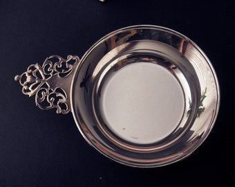 vintage silverplate coin dish, trinkets - new, Community Silver Co