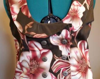 Ladies Flower Vest