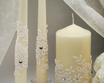 wedding rustic unity candles holders wedding ceremony unity candles for wedding unity candle ceremony set wedding rustic candles set ivory