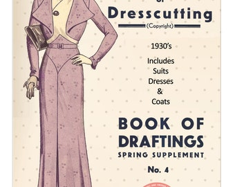 The Haslam System of Dressmaking No. 4 1930's - PDF Booklet Instant Download