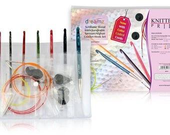 """Knitter's Pride - Dreamz - 6"""" Afghan/Tunisian Crochet Set -On Sale!"""