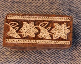 wood stamp