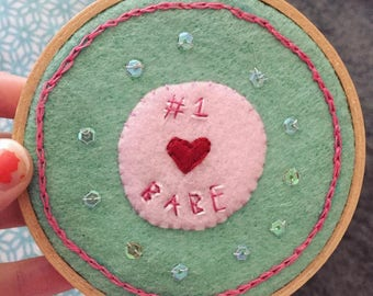 Babe embroidery!