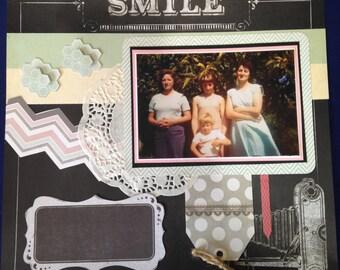 Scrapbooking Kit - Smile