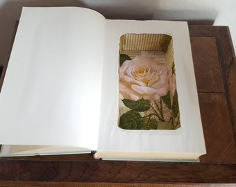 Hollow Book Safe, Jewellery Box, 1st Anniversary Gift, Unique Gift Box, Hollowed Out Book