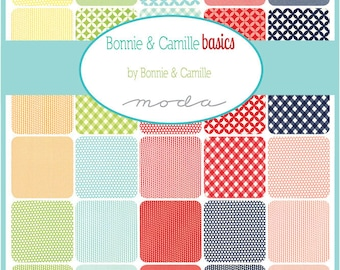 Bonnie and Camille Basics Charm Pack by Bonnie & Camille for Moda