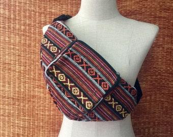 Festival Aztec Fanny pack Tribal Boho Style belt belly Pouch Travel hip sack phanny waist Ikat Hippies Gypsy Bohemian Bum bag Men wimen Gift