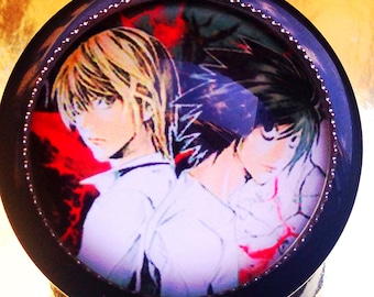Death Note retractable name badge holder