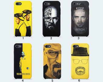 Breaking Bad Phone Case for iPhone X iPhone 8 Plus 7 Plus iPhone 6 6S Plus iPhone 5 5S SE Samsung Galaxy S7 Edge S8 Plus