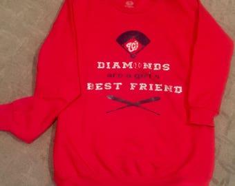 Baseball Team Sweatshirt