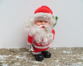 Vintage Santa Claus with Bell Holiday Decor Christmas Decor
