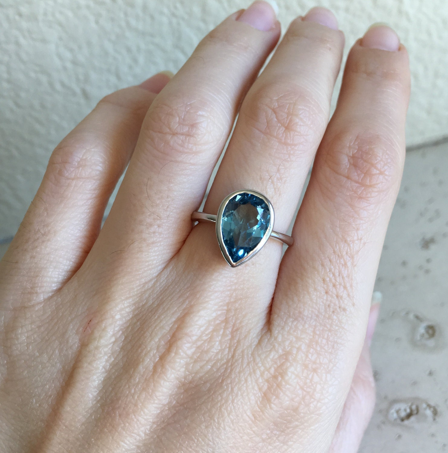 sapphire blue organic deep dark rings styles jana london ring jr flower cut the engagement reinhardt