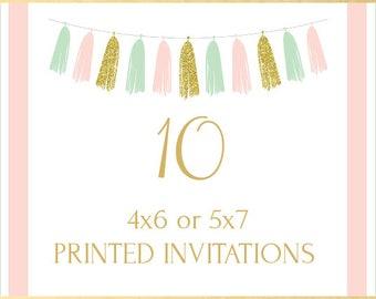 Printing Service, 10 Invitations