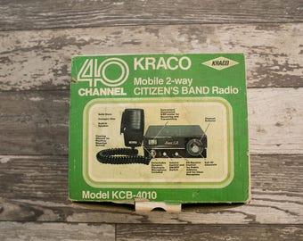 Kraco 40 Channel 2-Way Radio
