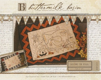 SALE!! Sewing in Fall Pattern by Buttermilk Basin
