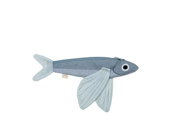 FLYING FISH - Purse or Keychain