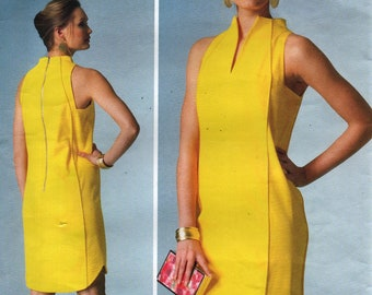 Vogue 1445 PAMELLA ROLAND américain créateur contemporain robe taille 14-16 anglaises et Français les Instructions
