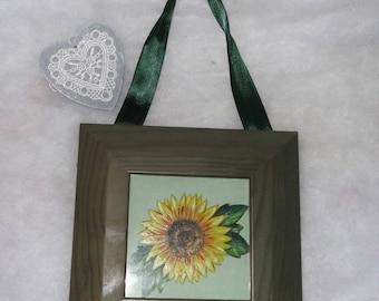 frame 1 sunflower flower
