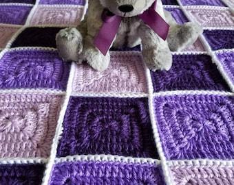 Crochet Baby, Lap Blanket