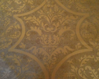 Fortuny etsy scalamandre fabric remnant venezia fortuny style hand printed cotton sisterspd