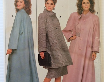 Vintage Butterick sewing pattern 5760 - Misses' coat - size 12-14-16