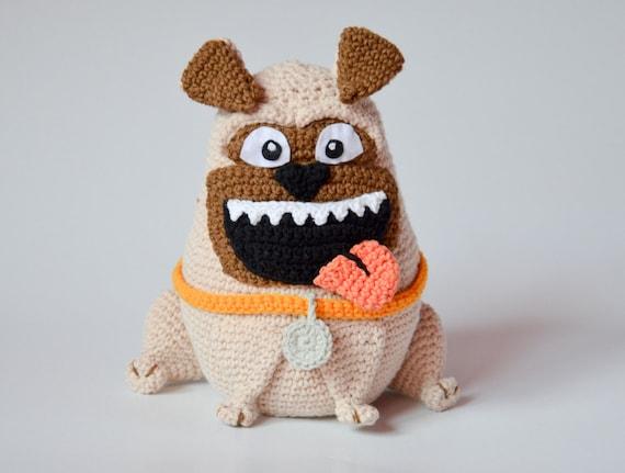 Amigurumi Jack Russell Pattern : Crochet pattern the pug pattern by krawka dog crochet dopey