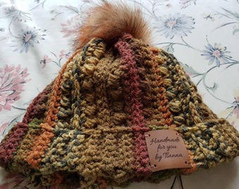 Crochet Malia Beanie hat