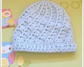 new baby gift, baby shower gift, newborn hat, crochet baby beanie hat, crochet infant hat, baby boy hat, boys hat, boys beanie