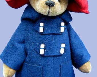 Marmalade Miniature Teddy Bear E-Pattern
