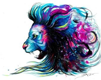 "Art Print ""King of imagination"""""