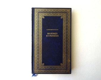 Vintage French Book - La Rochefoucauld - Maximes et Pensees