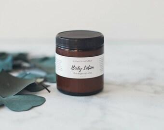 Body Lotion Eucalyptus Lime