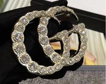 GG Diamond Brooch