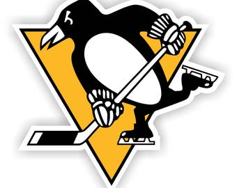 Pittsburgh Penguins Decal / Sticker Die cut