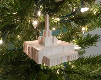 Madrid, Spain LDS Temple Christmas Ornament